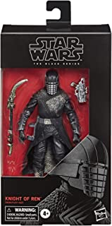 """STAR WARS E8068AS00 The Black Series Knight of Ren Toy 6"""" Scale The Rise of Skywalker Collectible Figure, Kids Ages 4 & Up"""