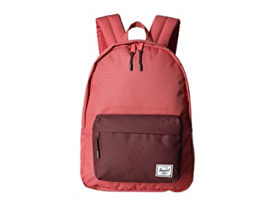 Herschel Supply Co. Classic Mid-Volume (Mineral Red/Plum) Backpack Bags