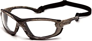 Carhartt Toccoa Safety Glasses, Realtree Xtra Frame, Clear H2MAX Anti-Fog Lens