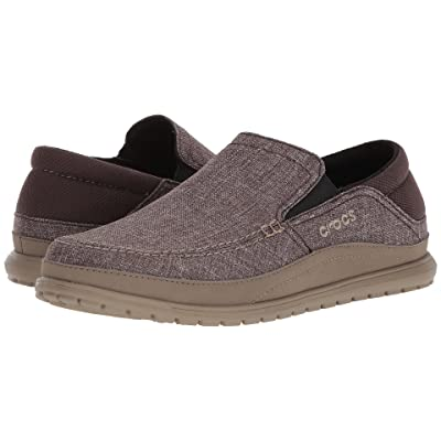 Crocs Santa Cruz Playa Slip-On (Espresso/Walnut) Men