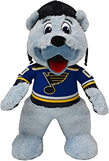 "Bleacher Creatures St. Louis Blues Louie The Bear 10"" Plush Figure- A Mascot for Play or Display"
