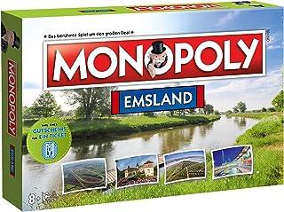 Winning Moves Winning Moves Monopoly Emsland Region Edition Ausgabe Spiel Gesellschaftsspiel Brettspiel