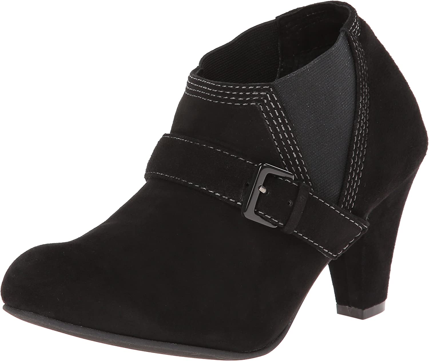 All Black Women's Stretch Belted Boot