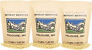 Sponsored Ad - Soft White Wheat Berries • 100% Desiccant Free • 12 lbs • Non-GMO Project Verified• 100% Non-Irradiated • C...