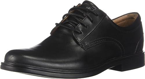 Clarks Un Aldric Lace Pour des hommes Oxfords noir Leather 13