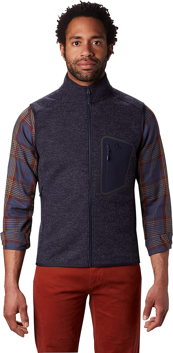 Mountain Hardwear Men's Hatcher Vest Climbing and Hiking Outlet SALE San Francisco Mall for