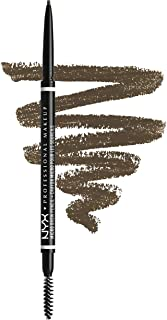 NYX PROFESSIONAL MAKEUP Micro Brow Pencil, Eyebrow Pencil, Ash Brown, 0.003 Oz