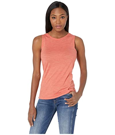 Smartwool Merino Sport 150 Tank (Light Habanero Heather) Women