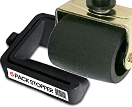 iPrimio Black Bed and Furniture Stopper - Requires No Lifting of Your Bed - It Works - Caster Cups, Keeps Bed and Furnitur...