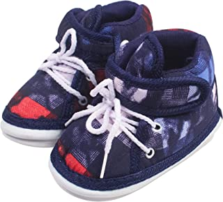 Ole Baby Touch Fastner with Whistle Musical Outdoor First Walking Shoes 0-06 Months