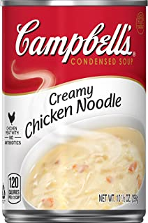 Campbell's Condensed Creamy Chicken Noodle Soup, 10.51 Ounce (Pack of 12)