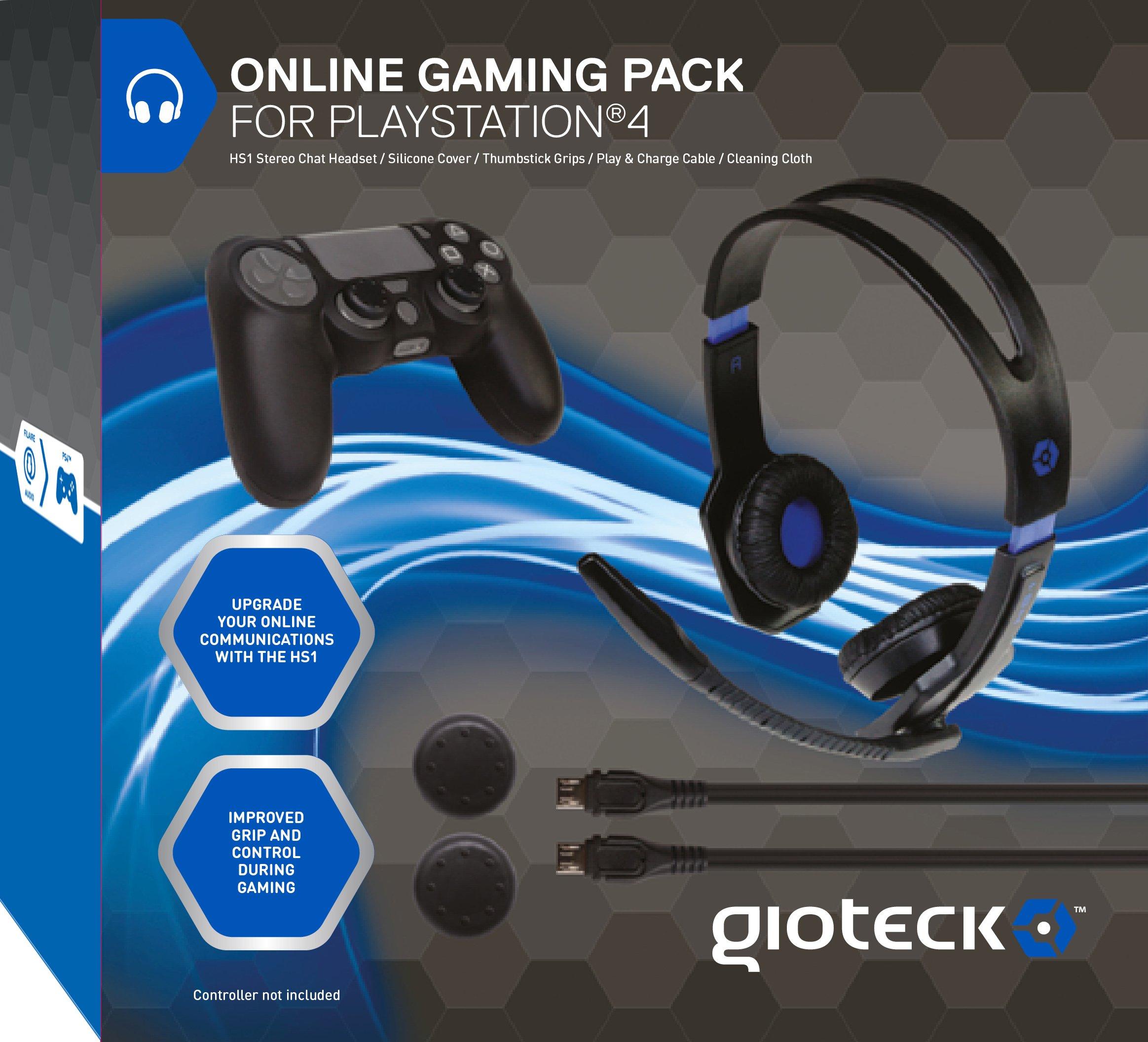 Gioteck - Online Gaming Pack (PlayStation 4): Amazon.es: Videojuegos