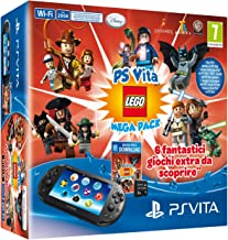 PlayStation Vita - Console 2000 Wi-Fi + Memory Card 8GB + LEGO Mega Pack