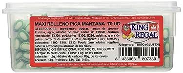 King Regal Maxi Relleno Pica Manzana - estuche 70 unidades
