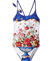 Dolce & Gabbana Kids - Caltagirone Printed Swimsuit (Toddler/Little Kids)