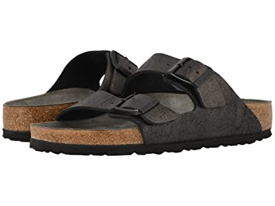Birkenstock Arizona (Washed Metallic Antique Black) Women