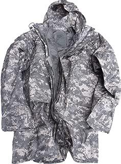 ORC US Army Improved ACU Rainsuit Weather Rain Jacket Parka Coat +Liner …