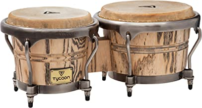 Tycoon Percussion 7 Inch & 8 1/2 Inch Master Grand Series Bongos