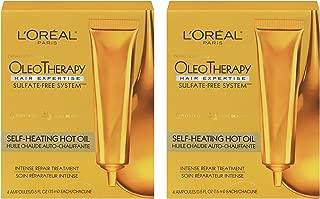 L'Oreal Paris Hair Expertise OleoTherapy Self-Heating Hot Oil Intense Repair Treatment, 1 set - 2pc