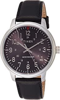 تيميكس ساعة عملية كاجوال رجال انالوج بعقارب جلد - TW2R85500