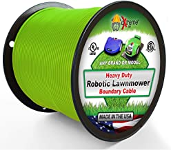 Extreme Consumer Products Universal Heavy Duty Automatic Lawnmower Boundary Wire - 500` 14 Gauge Thick Professional Grade Robotic Lawnmower Perimeter Wire Works with All Brands