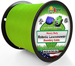 Extreme Consumer Products Heavy Duty Automower Boundary Wire - 1000' 14 Gauge Thick Professional Grade Robotic Lawnmower Perimeter Wire