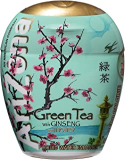 Arizona Green Tea with Gingseng Liquid Water Enhancers 1.9 oz Containers - Single Pack