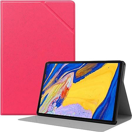 HoYiXi Custodia per Lenovo Tab M10 Plus 10.3 Ultra Sottile Case in Pelle Cover con Supporto Funzione Custodia di Tablet per Lenovo Tab M10 Plus 10.3 TB-X606F/TB-X606X - Rosso