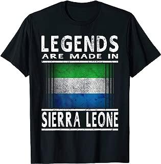 Sierra Leonean Legends T-Shirt: Sierra Leone Flag