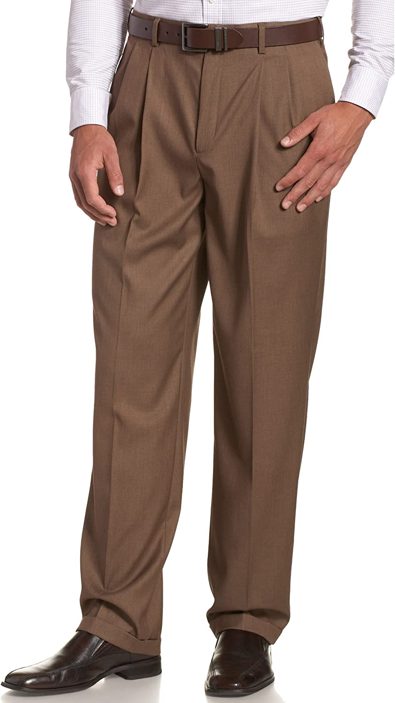 Savane Men's Select Edition Lowest price challenge Max 68% OFF Pant Dress Pleated Gaberdine