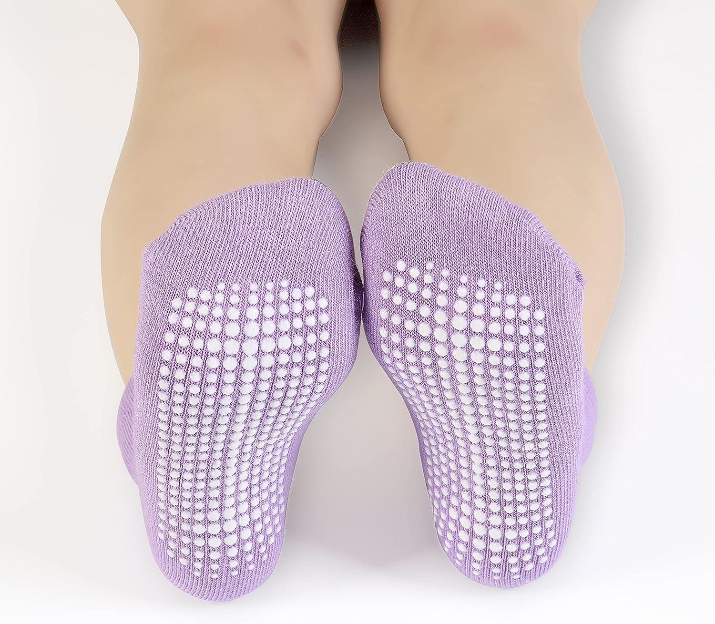 Dicry Non-slip Toddler Socks Baby Boys Girls Grips Socks Anti-skid Ankle Infant Kids 6&12 Pairs