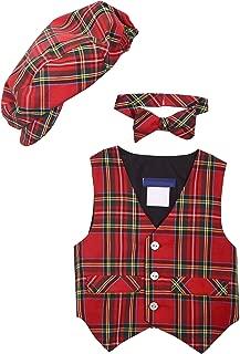tartan baby shirt