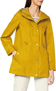 Joules Outerwear Women's Rain Jacket, Antique Gold, 4