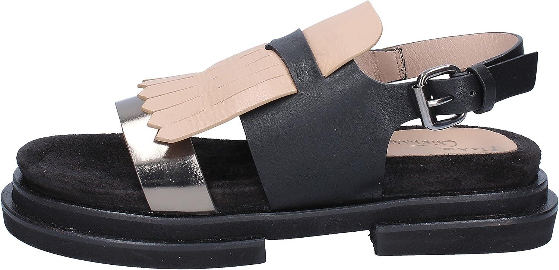 MARIA CRISTINA CRISTINA CRISTINA Sandaler kvinnor läder svart  Fri leverans och retur
