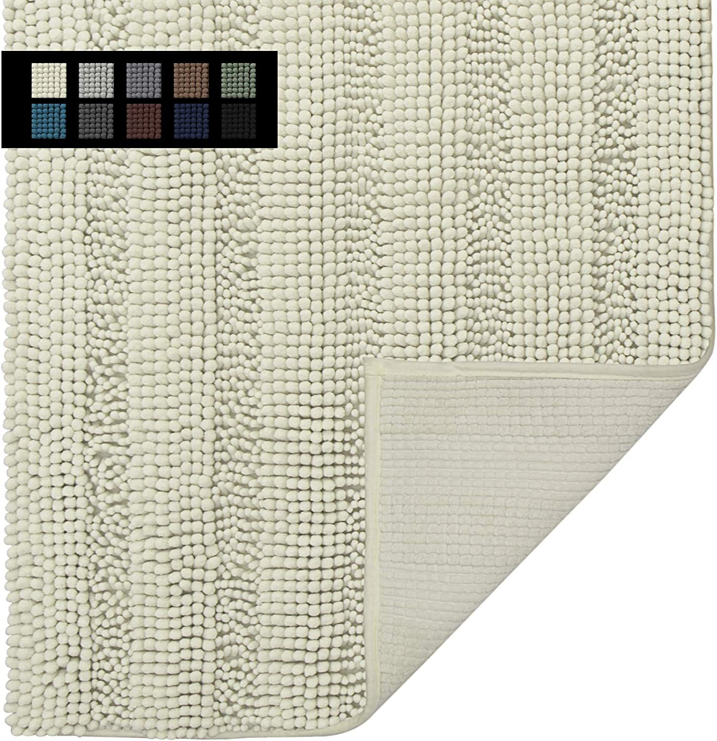 Easy-Going Luxury Chenille Striped Pattern Mat Bath 24x70 Dealing full price reduction in S Very popular!
