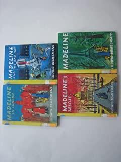 Madeline's Book Collection (Madeline; Madeline's Rescue; Madeline and the Bad Hat; Madeline in London)