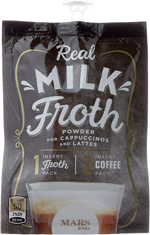 Mars Flavia Alterra Real Milk Froth Original 72 Count Formerly Fabulous Froth Packaging May Be Vary