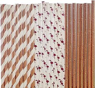 Best flamingo paper straws Reviews