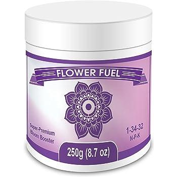 Flower Fuel 1-34-32, 250g - The Best Bloom Booster for Bigger, Heavier Harvests (250g)
