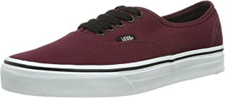 vans authentic red maroon