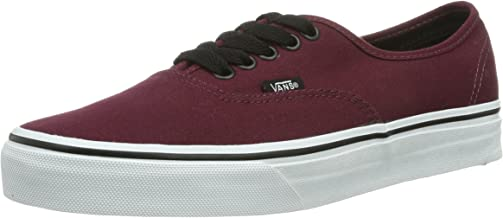 vans burgundy shoes authentic