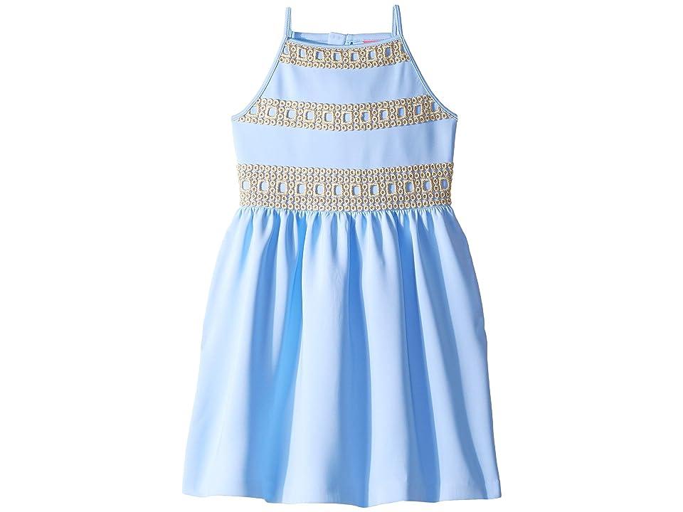 Lilly Pulitzer Kids Elize Dress (Toddler/Little Kids/Big Kids) (Blue Periwinkle) Girl