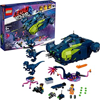 LEGO The Movie 2 Rex's Rexplorer! 70835 Building Kit, Spaceship Toy with Dinosaur Figures, 2019 (1172 Pieces)