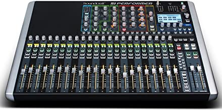 Soundcraft Si Performer 2 Digital 24-Channel Audio Mixer and Lighting Controller