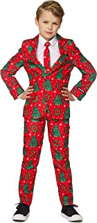 Christmas Suits for Boys in Various Styles - Jacket, Pants & Tie