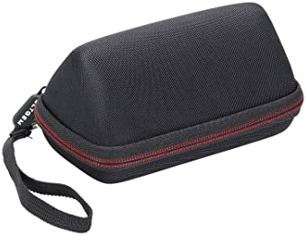 LTGEM Case for OontZ Angle 3 Portable Bluetooth Speaker with Mesh Pocket-Black