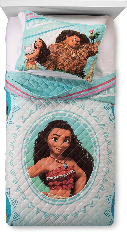 Disney Moana Wave Twin Sales Full Quilt Sham B Set Soft Super beauty product restock quality top Kids -