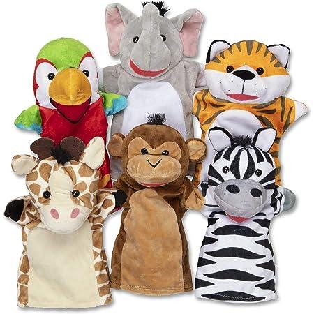 Melissa & Doug | Marionnettes À Main Amis Du Safari | Marionnettes & Théâtres | 2+ years