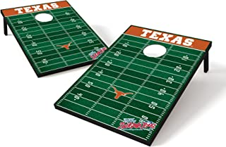 Wild Sports NCAA 2' x 3' Football Field Cornhole Bag Toss Game