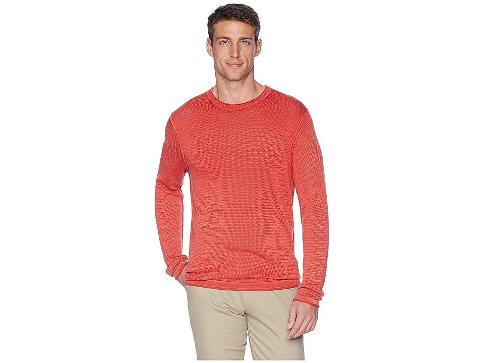 Tommy Bahama South Shore Flip Crew Neck Sweater (Poinciana) Men